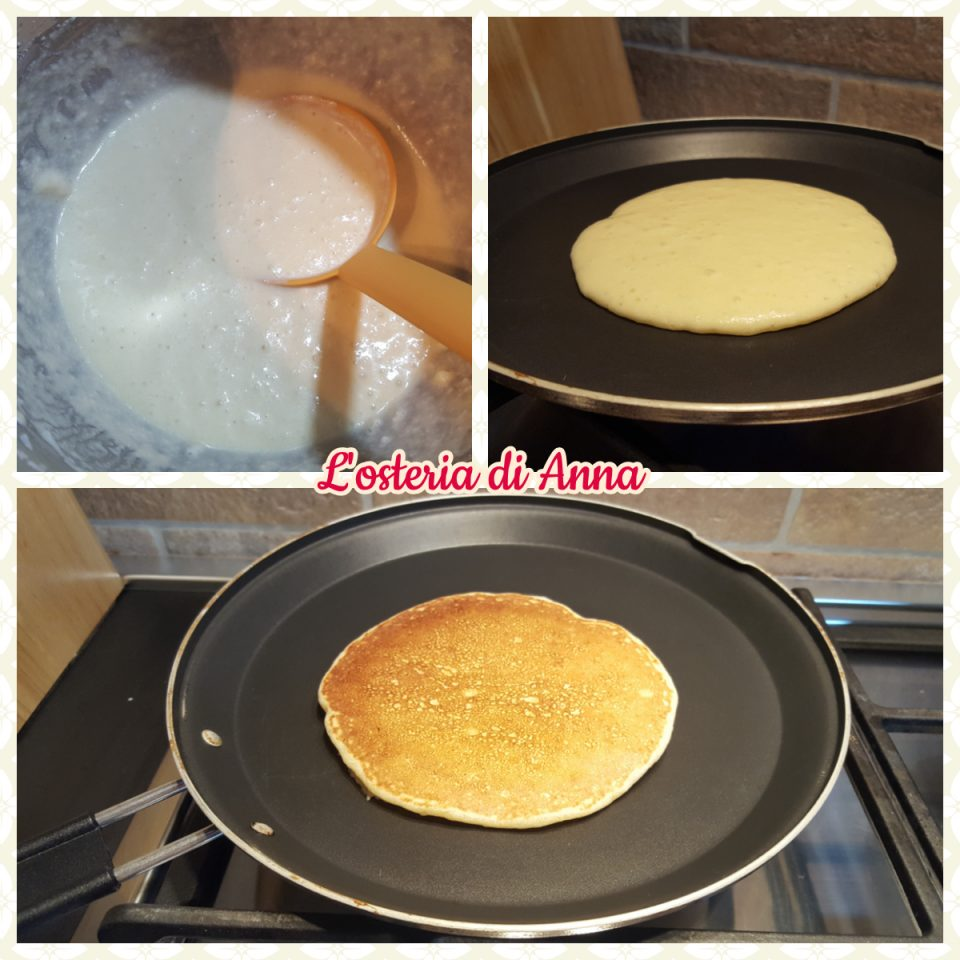 Cottura dei pancake