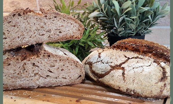 Pane di segale con lievito madre (ricetta di Bonci)