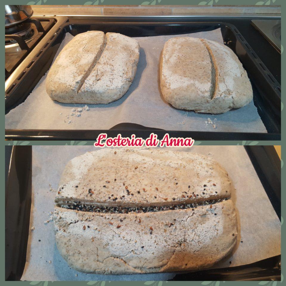 Preparazione cottura pane