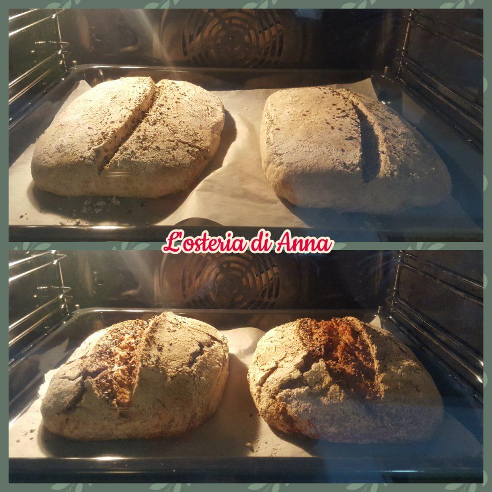 Cottura pane di segale