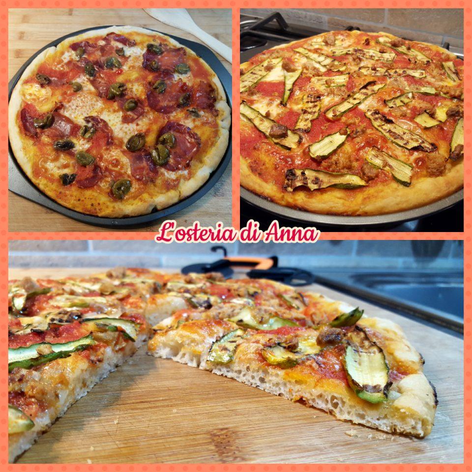 Pizze dopo la cottura