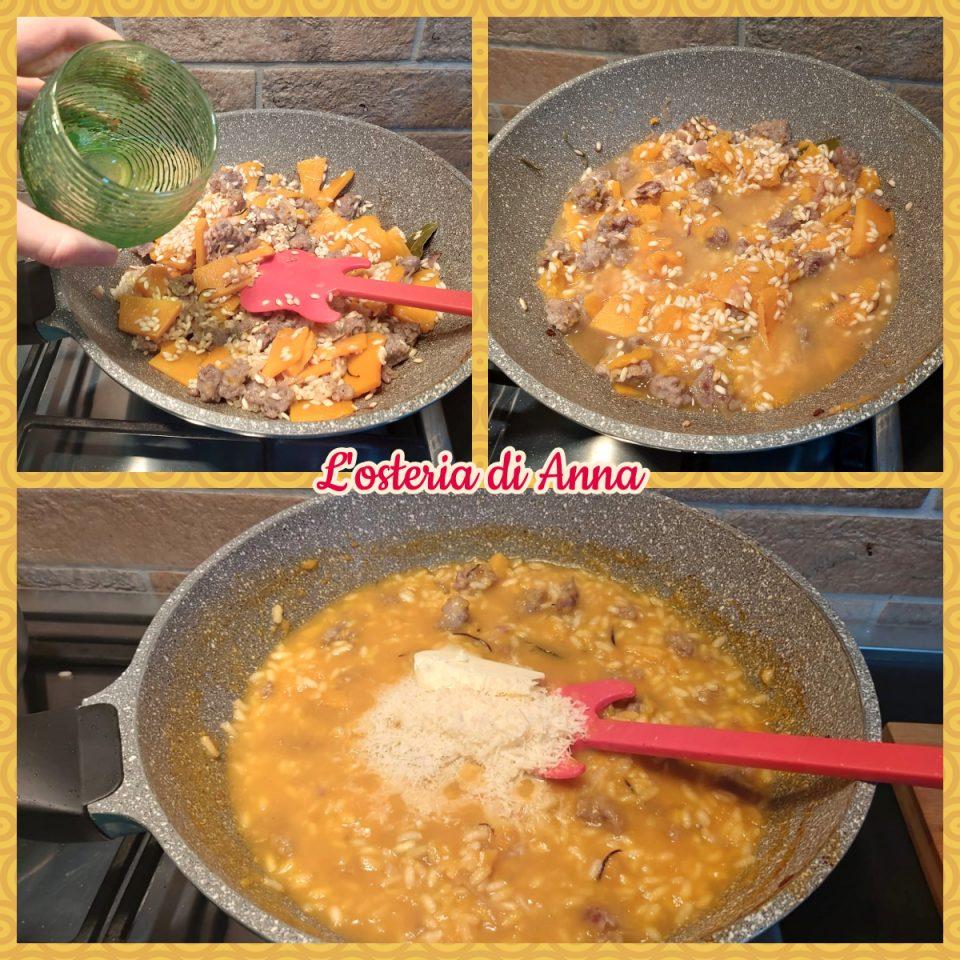 Cottura del risotto