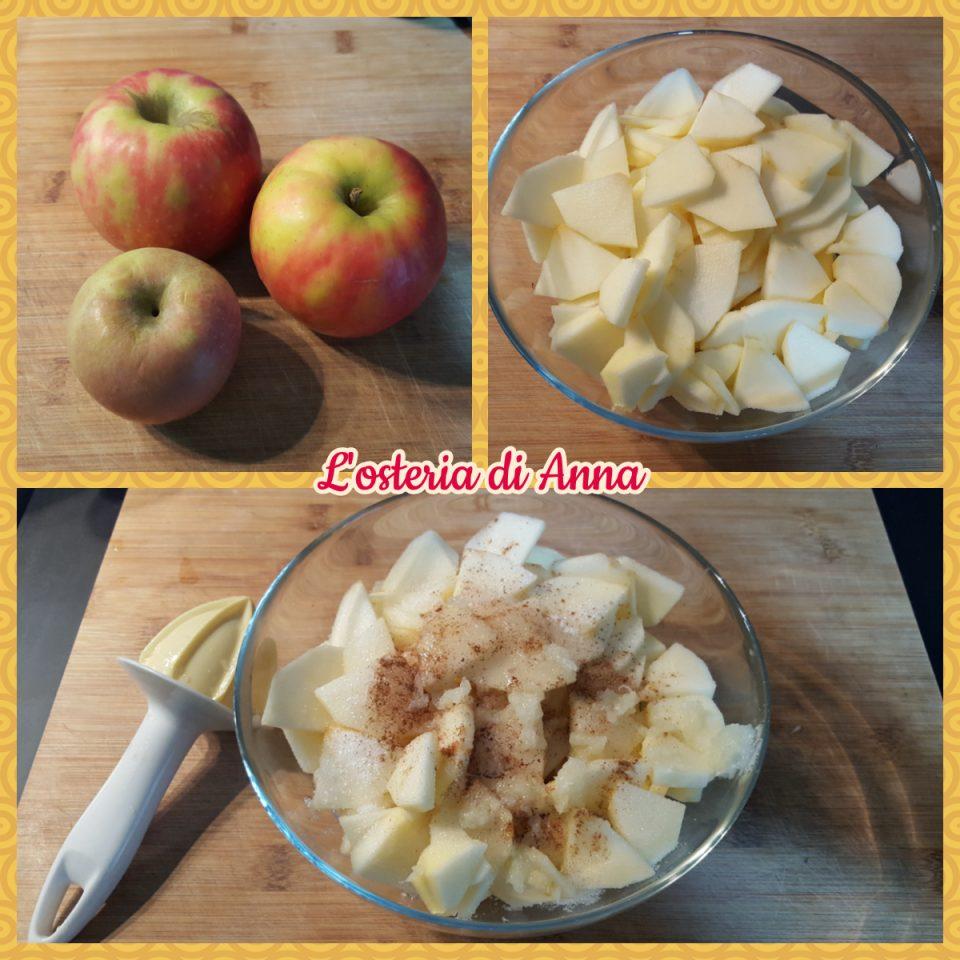 Preparare le mele