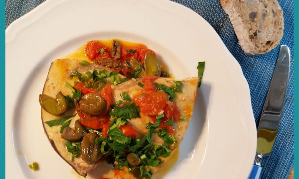 Pesce spada alla mediterranea