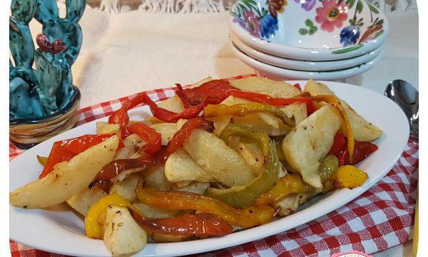 Pipi e patate (ricetta tradizionale calabrese)