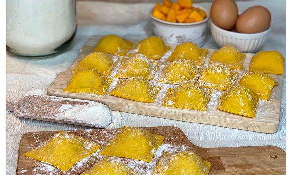 Ravioli di zucca e patate