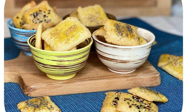 Biscotti al formaggio (ricetta per la pistola sparabiscotti)