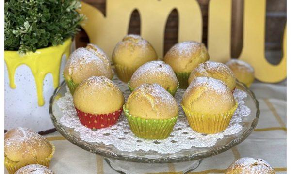 Muffin semplici (senza latte e senza burro)