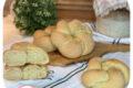Ciambelle intrecciate di pane (con lievito madre)
