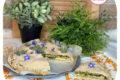 Torta salata con borragine e formaggio