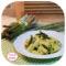 Pasta con crema di asparagi e pecorino