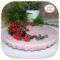 Pink cheesecake (ai frutti di bosco)
