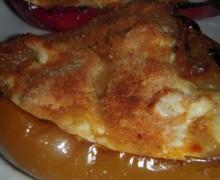 peperoni arrostiti con formaggio al gratin