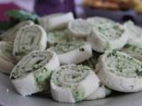 girelle con prosciutto rucola e formaggio cremoso