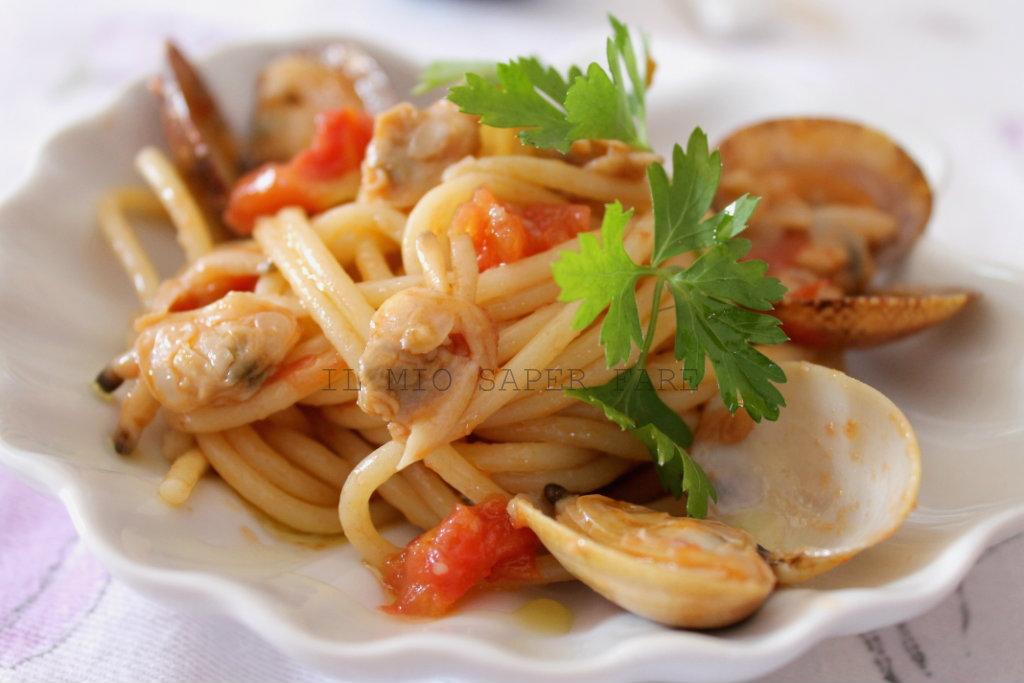 spaghetti con vongole