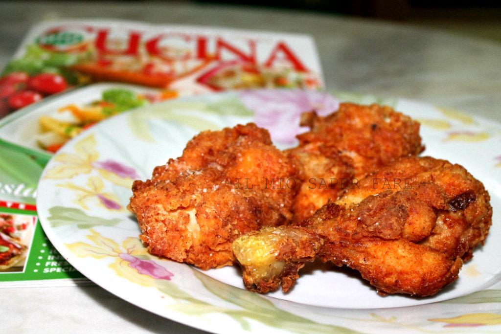 Pollo fritto alla paprika