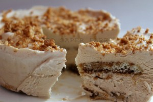 Torta gelato (gelato fatto in casa senza gelatiera)