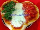 pizza pomodoro mozzarella e rucola
