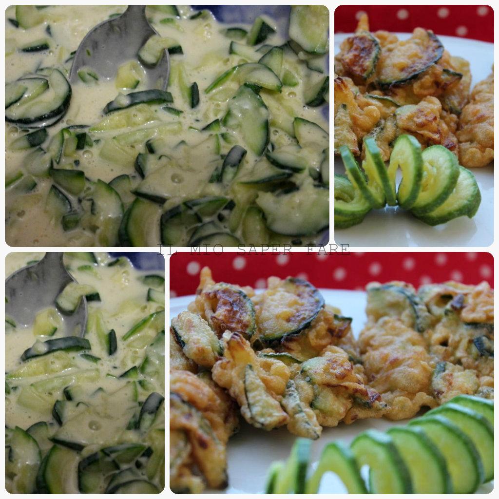frittatine d zucchine