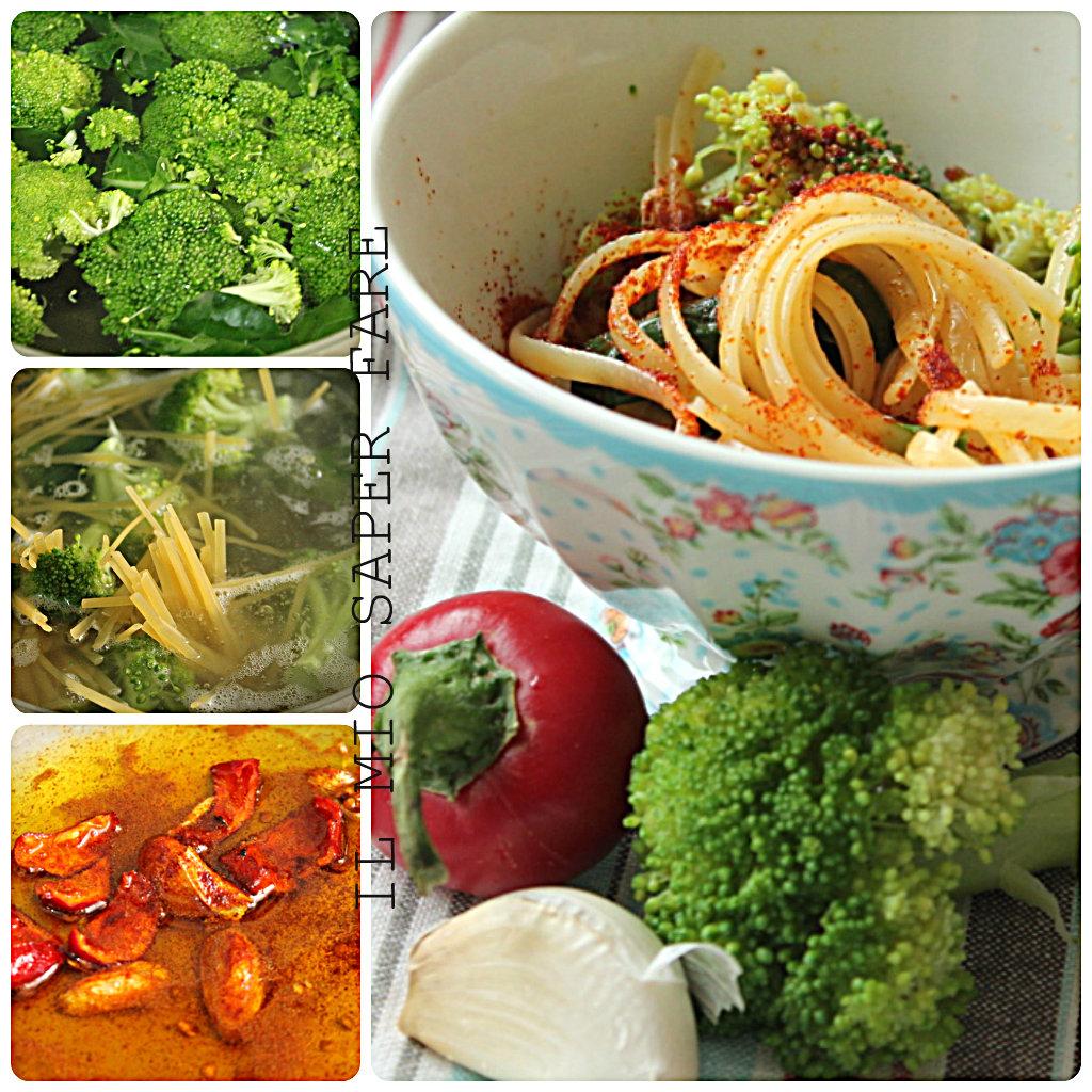 pasta con broccoli ricetta semplice IL MIO SAPER FARE
