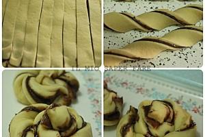 Girelle di pan brioche alla nutella