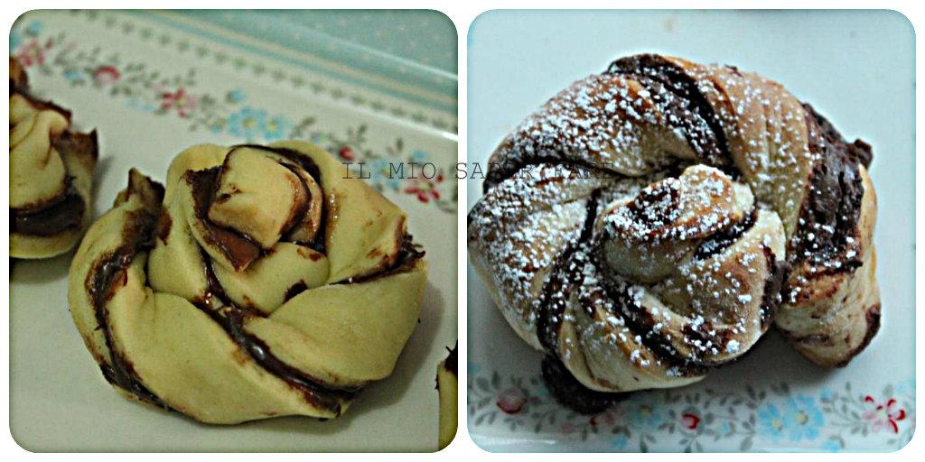 girelle di pan brioche con nutella ricetta dolce IL MIO SAPER FARE