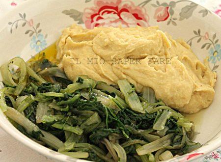 Fave e verdura ricetta pugliese