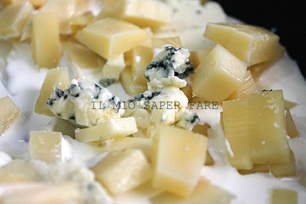 pasta ai 4 formaggi RICETTA FACILE IL MIO SAPER FARE