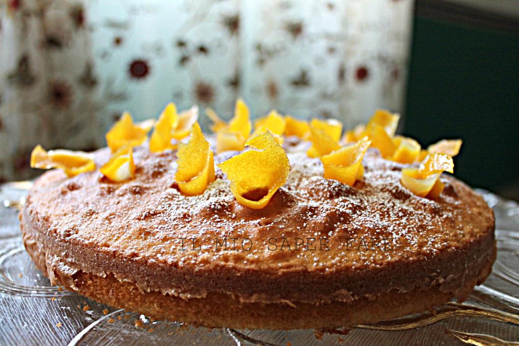 torta all'arancia ricetta