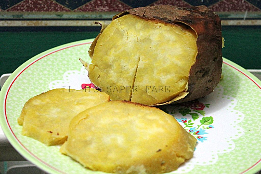 Patata Dolce Al Forno Ricetta Semplice Il Mio Saper Fare