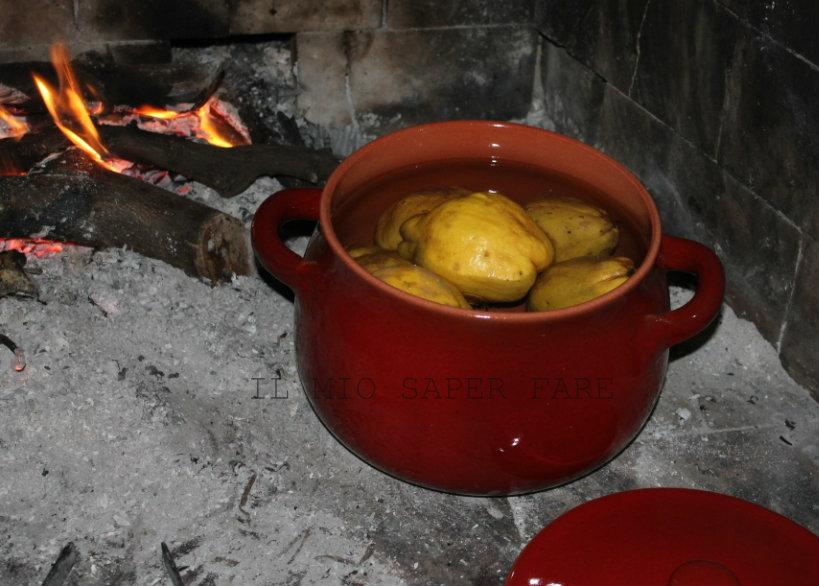 marmellata di pere cotogne  il mio saper fare