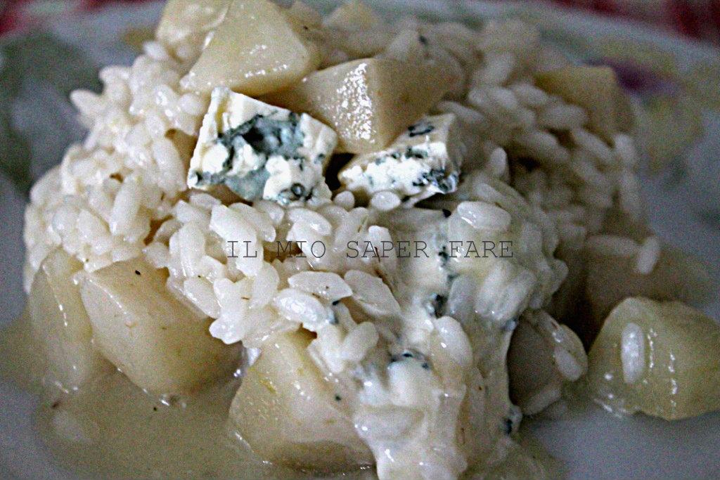 Risotto pere e gorgonzola Benedetta Parodi