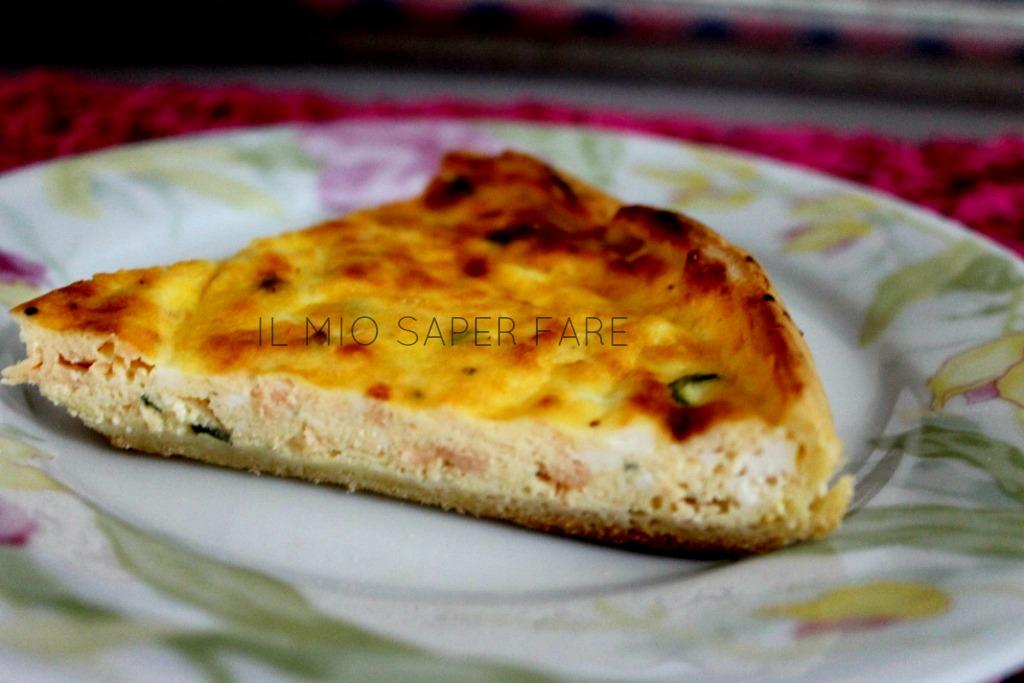torta salata pasta sfoglia e salmone