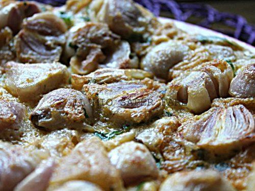 Frittata lampascioni ricetta pugliese
