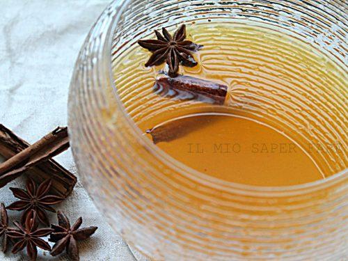 Sciroppo di arancia con anice e cannella