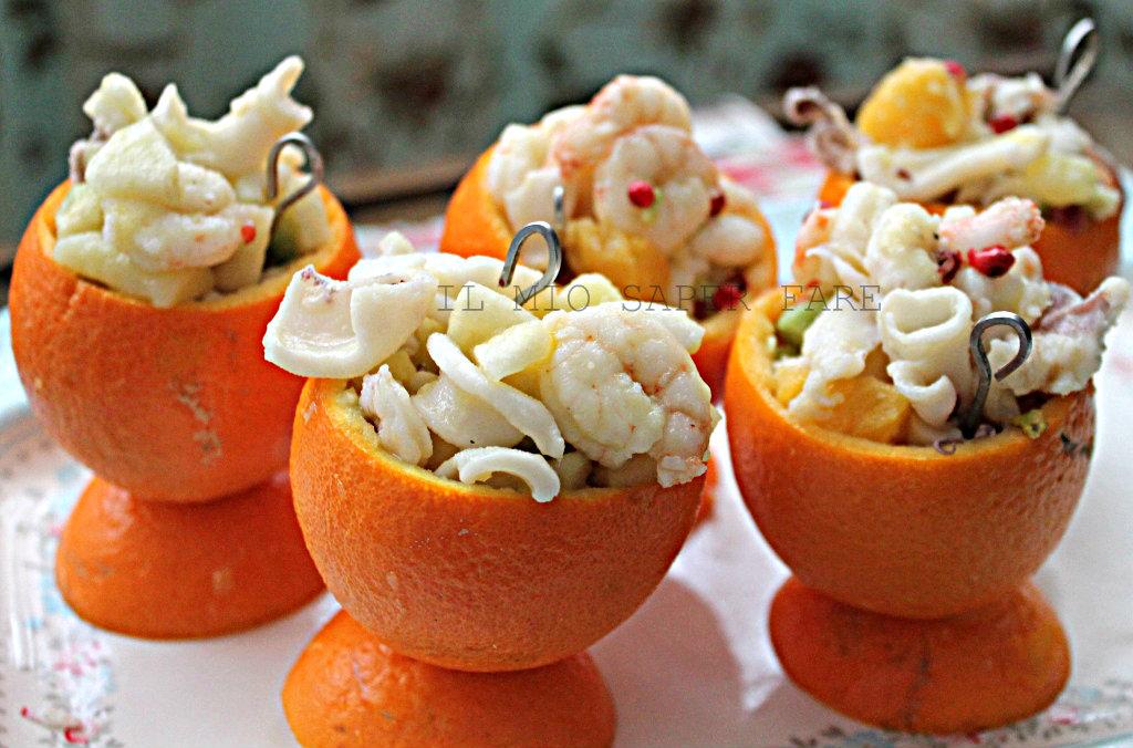 insalata di mare all'arancia il mio saper fare