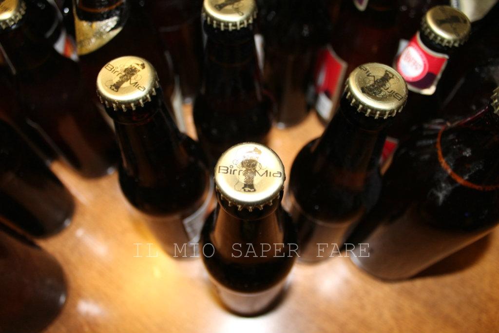 Birra artigianale fatta in casa IL MIO SAPER FARE