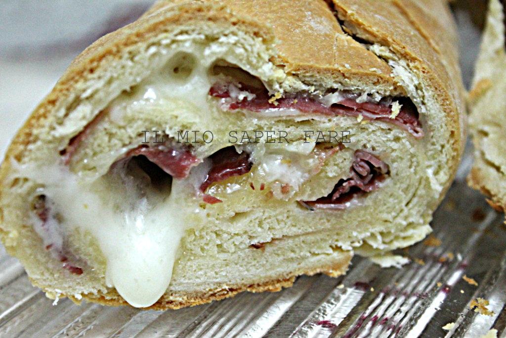 Rotolo di pan brioche farcito ricetta facile Il mio saper fare