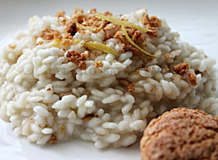 Risotto all'amaretto