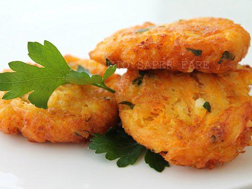 Crocchette di patate carote e ricotta