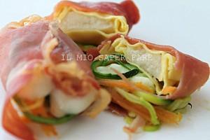 Tortellini ai formaggi finger food