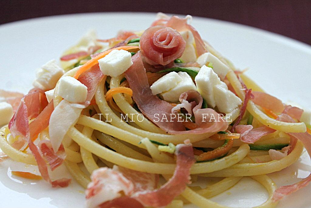 Primi piatti facili e veloci pasta con zucchine for Ricette veloci vegetariane primi piatti
