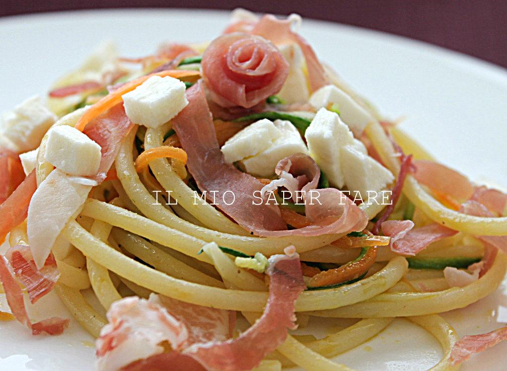 Primi piatti facili e veloci pasta con zucchine for Primi piatti veloci
