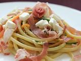 Primi piatti facili e veloci: pasta con zucchine e prosciutto crudo blog il mio saper fare