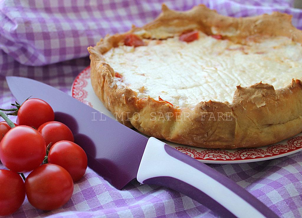 Torta salata con pomodorini freschi blog il mio saper fare