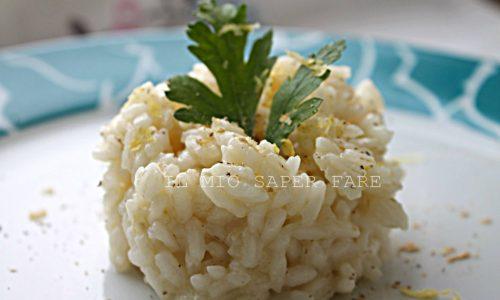 Risotto zenzero e limone ricetta vegetariana