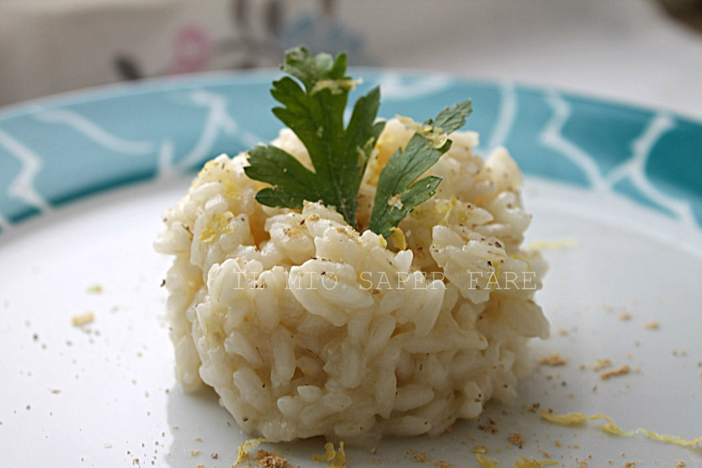 Risotto zenzero e limone ricetta vegetariana blog il mio saper fare