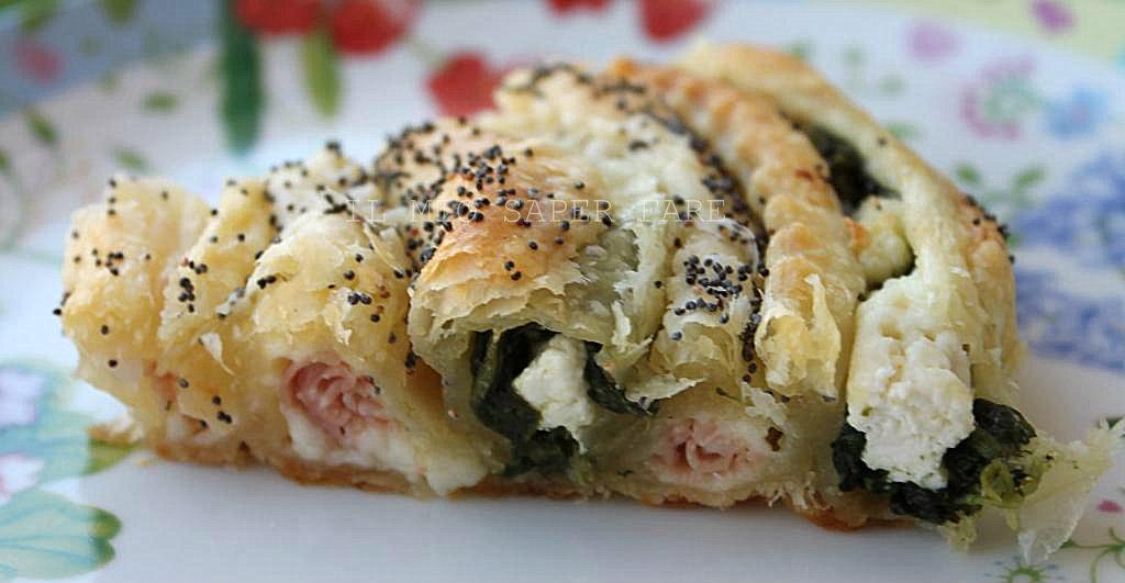 Ricette di pasta sfoglia con spinaci