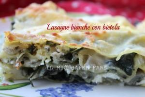 Lasagne bianche con bietola scamorza e ricotta