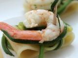Pasta fredda gamberi e zucchine ricetta finger food blog il mio saper fare